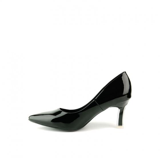 Giày cao gót nhọn SUNDAY CG54 - Màu đen