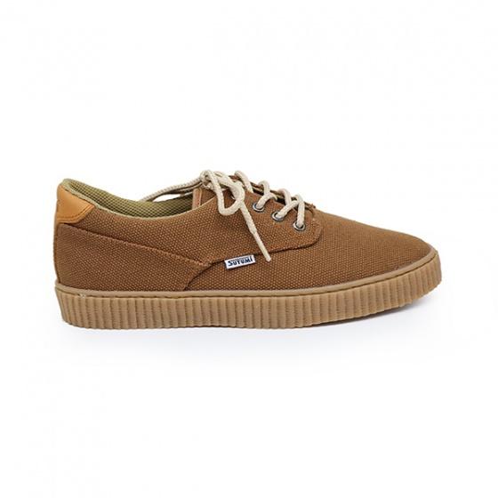 Giày cột dây nam Sutumi Sum012-Brown