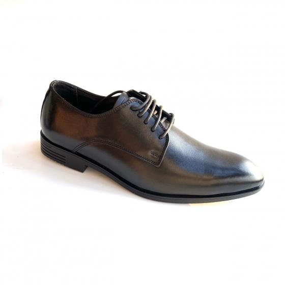 Giày tây nam da bò Geleli - Bảo hành 1 năm