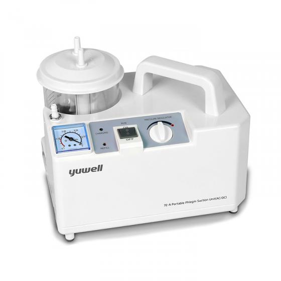 Máy hút dịch mũi, hút đờm 1 bình Yuwell 7E-A (7EA) tiện dụng cho người lớn, trẻ em - Bảo hành 2 năm