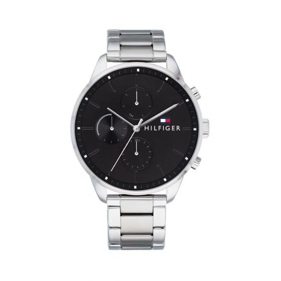 Đồng hồ Tommy Hilifger 1791485 nam dâu kim loại lịch thứ ngày 44mm