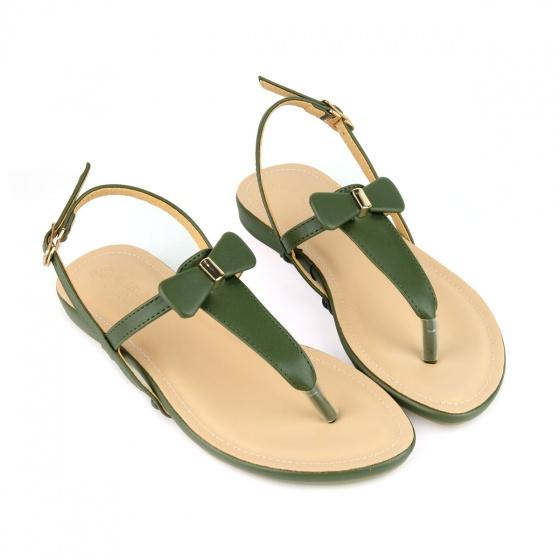 Giày sandal quai kẹp SUNDAY SD29 - Màu xanh rêu