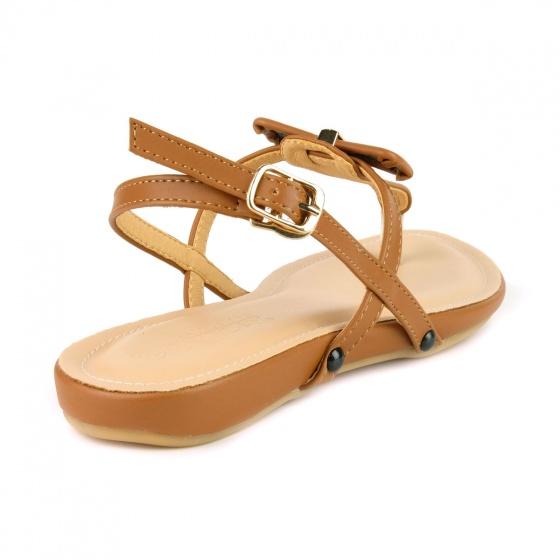 Giày sandal quai kẹp SUNDAY SD29 - Màu nâu