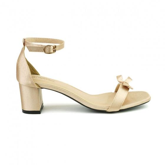 Giày cao gót Sunday DV44 màu vàng ánh kim