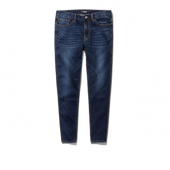 Quần jeans nam The Cosmo HARRY SLIM FIT JEANS màu xanh navy TC1024005DB
