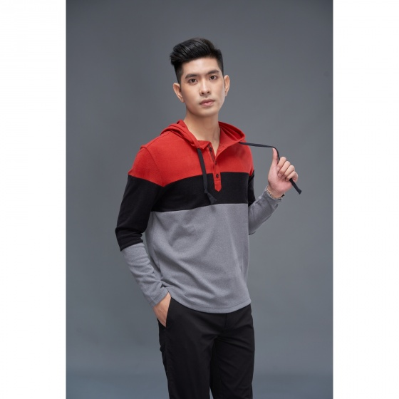 Áo hoodie màu 2 DGC -  WAH1805M