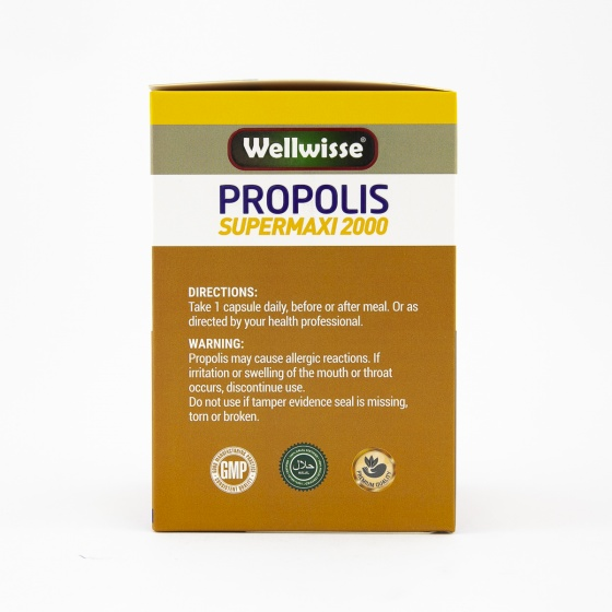 Viên uống sáp ong Wellwisse Propolis Supermaxi 2000 (365 Viên)