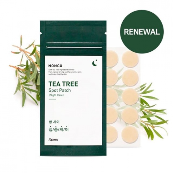 Miếng dán mụn A'pieu nonco tea tree spot patch