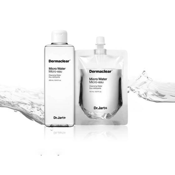 Nước khoáng tẩy trang Dr Jart+ Dermaclear Micro Water  250ml+ Refill 150ml