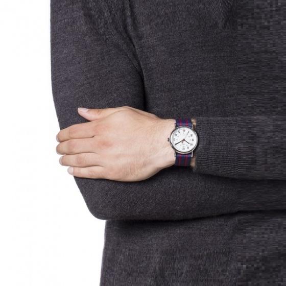 Đồng hồ nam dây vải Timex Weekender Stripe T2N747