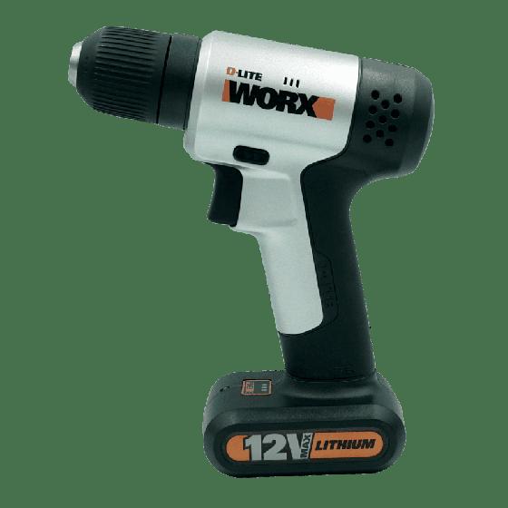 Máy khoan vặn vít dùng pin LI-ION 12V WORX ORANGE WX104.2 (hộp đầy đủ phụ kiện)