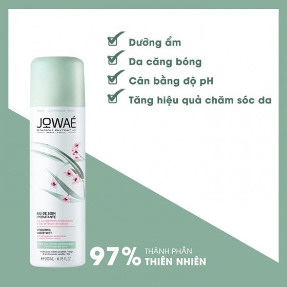 Xịt khoáng dưỡng da Hoa Anh Đào JOWAE Hydrating Water Mist 200ml hàng chính hãng nhập khẩu từ Pháp