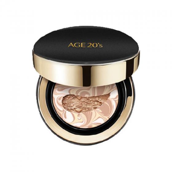 Phấn tươi dưỡng ẩm Age20's Signature Essence Cover Pact Intense Cover 21 Light Beige