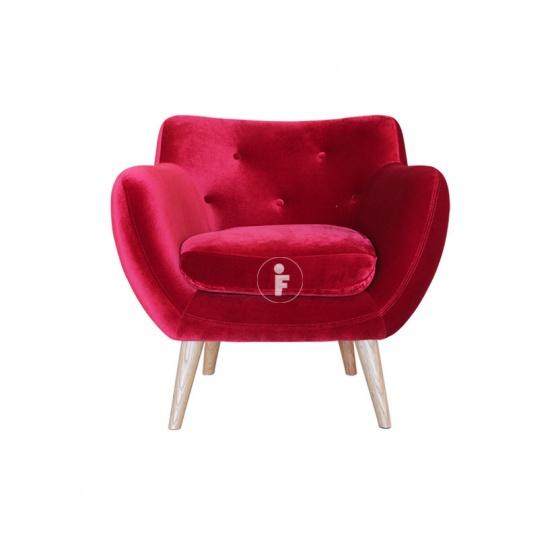 Ghế đơn sofa vải Furnist Claier
