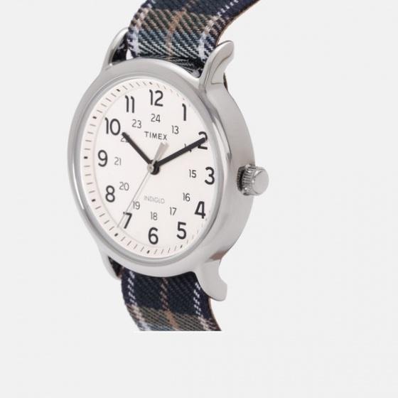 Đồng hồ unisex Weekender Weekender Silver Tone Analog TW2R51400