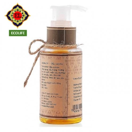 Dầu Jojoba Ecolife dưỡng ẩm, dưỡng da, dưỡng tóc