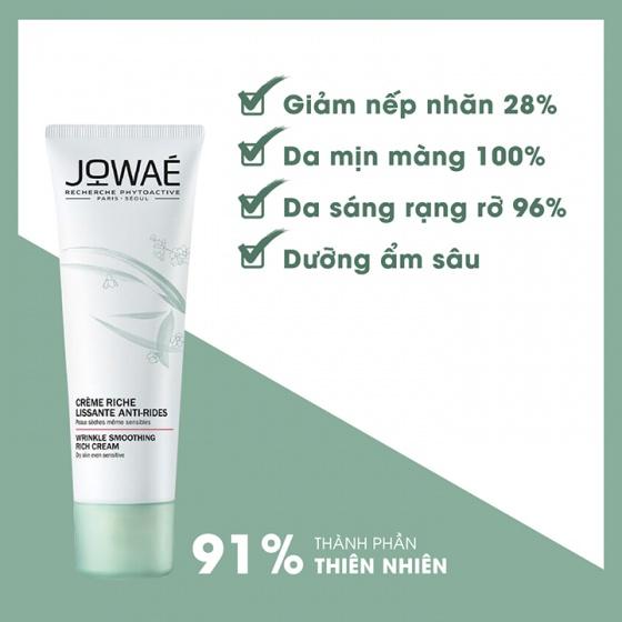 Kem mờ nếp nhăn cho da khô JOWAE wrinkle smoothing light cream chống lão hóa nhập khẩu từ Pháp 40ml