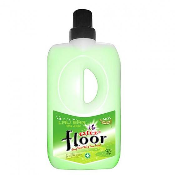 Lau sàn chống trơn trượt EZTEX 1000ml hương lavender