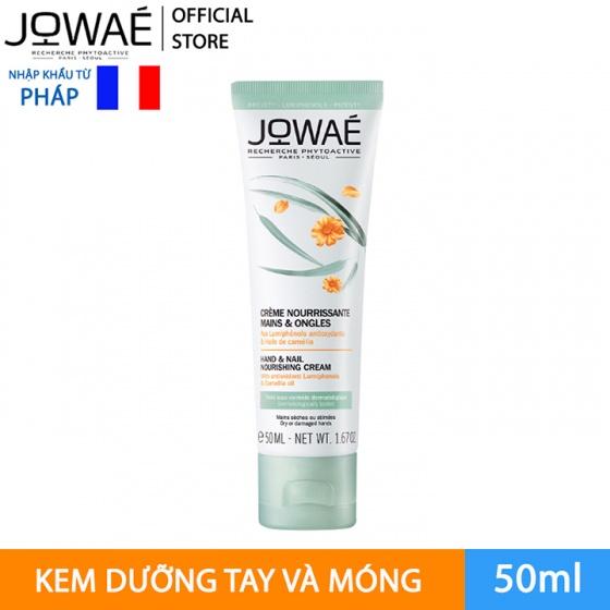 Kem dưỡng tay và móng JOWAE hand and nail nourishing cream mỹ phẩm thiên nhiên nhập khẩu từ Pháp 50ml