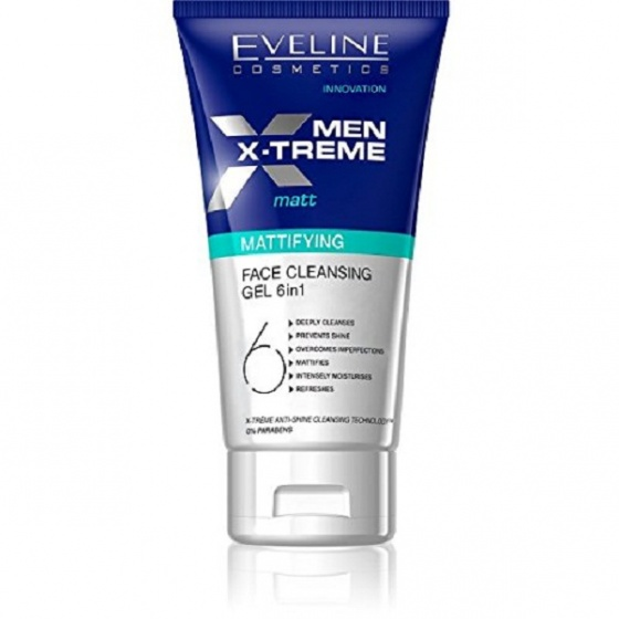 Gel rửa mặt mềm da 6 trong 1 dành cho nam Men X-treme 150ml