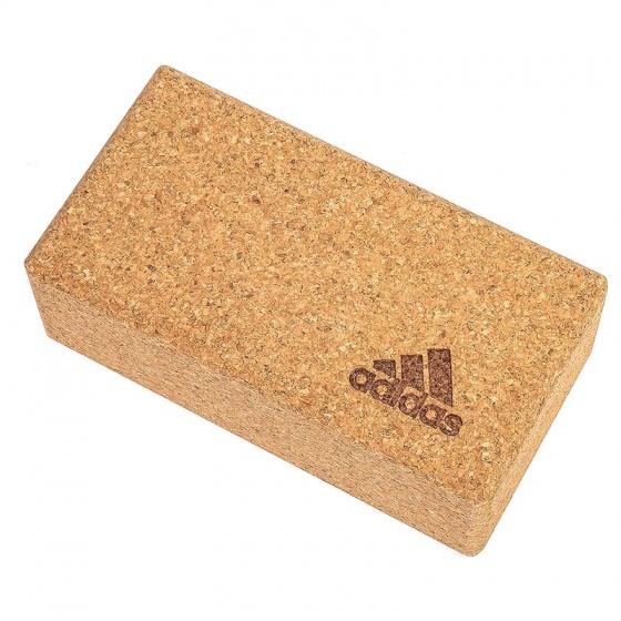 Gạch tập yoga gỗ bần Adidas ADYG-20100CORK