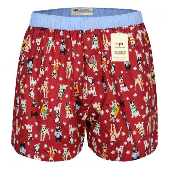 Quần đi biển nam quần đùi mặc nhà cotton thoái mái vận động qdn05-1