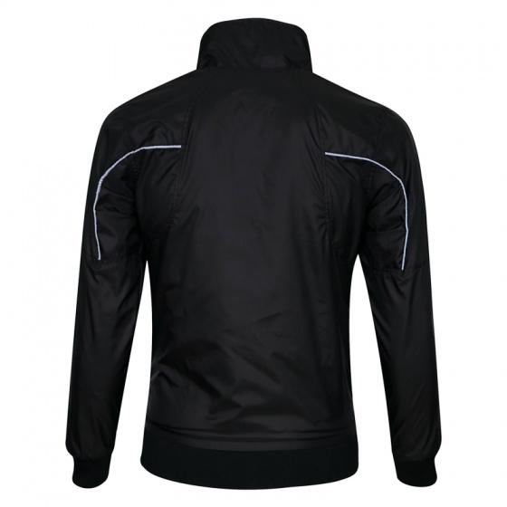 Áo khoác dù nam 2 mặc 2 lớp chống nước cao cấp akd32-sọc xám