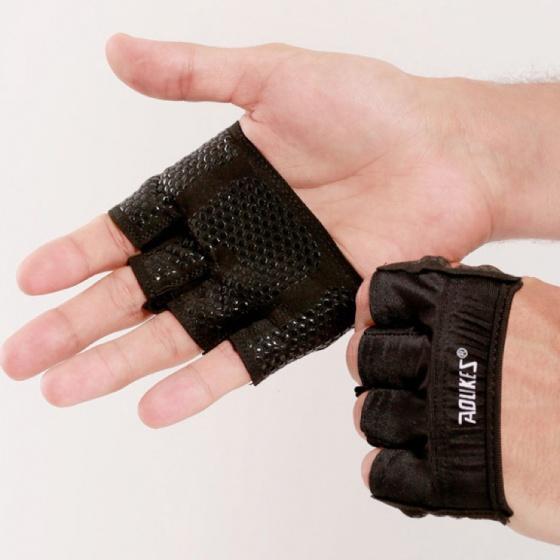 Găng tay tập gym Aolikes 4 ngón Unisex HS-111