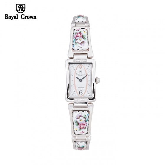 Đồng hồ nữ Chính Hãng Royal Crown 6431-C dây Ceramic