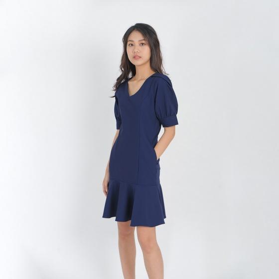 Váy đầm công sở thời trang Eden đuôi cá - D406