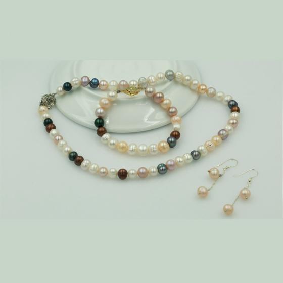 Bộ sản phẩm ngọc trai - Opal - S11