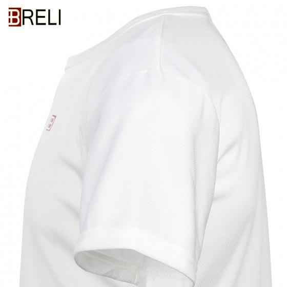 Áo thể thao nam Breli - BAS9018-1-WT (Trắng)