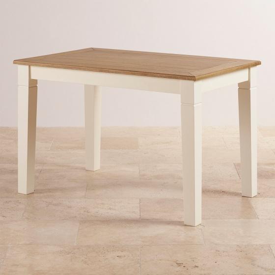 Bàn ăn 4 chỗ Chillon gỗ sồi 1m4 (140x80cm)- cozino