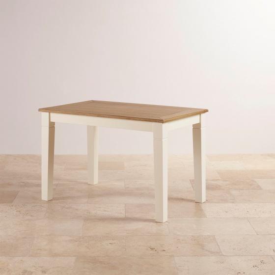 Bàn ăn 4-6 chỗ Chillon gỗ sồi 1m5 (150x80cm) - cozino