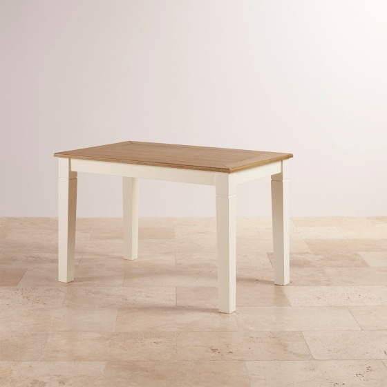 Bàn ăn 6 chỗ Chillon gỗ sồi 1m8 (180x80cm) - cozino