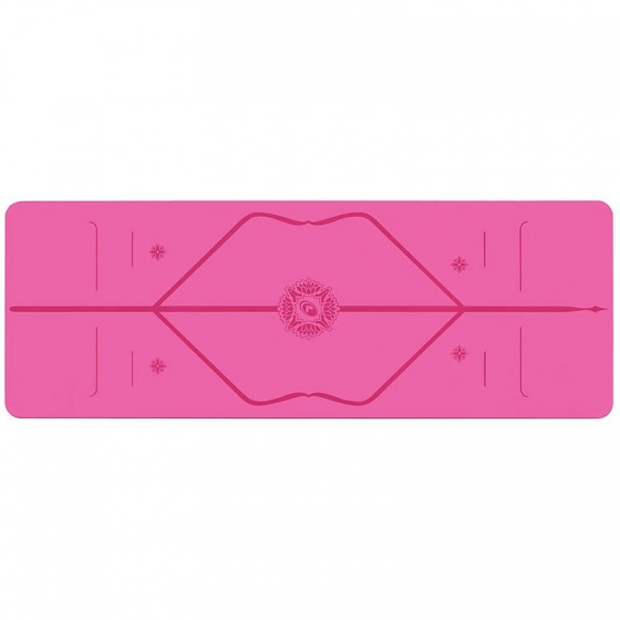 Thảm tập yoga định tuyến PU Liforme Gratitude - Grateful Pink 4.2mm