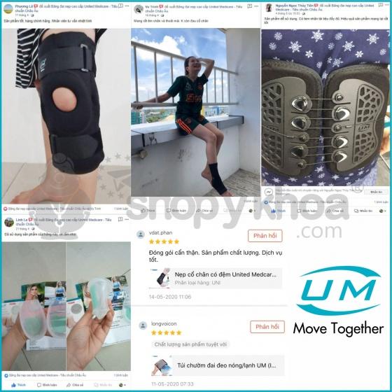 Băng mềm có dán chống lật cổ chân United Medicare (D02), size XXL