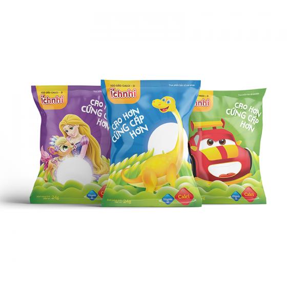 Kẹo dẻo Calci- D Ích Nhi
