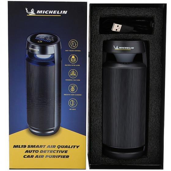 Máy lọc không khí và khử mùi xe hơi Michelin ML-19 - Hàng chính hãng