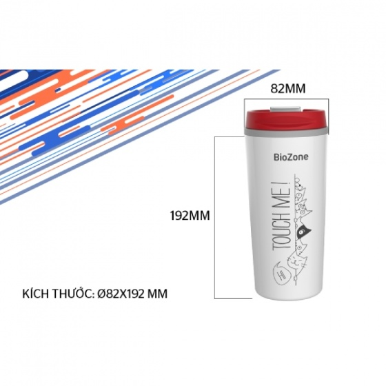 Bình cách nhiệt Biozone 500 ml KB-WA500P1WR