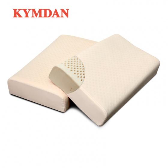 Combo 2 gối cao su thiên nhiên Kymdan Pillow PressureFree Plus 60 x 38 x 10 cm