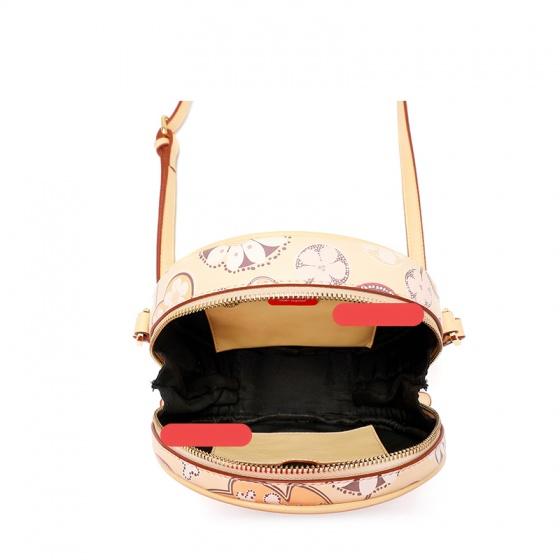Túi trống tròn trơn S394 - Vàng Camila - Y09S394