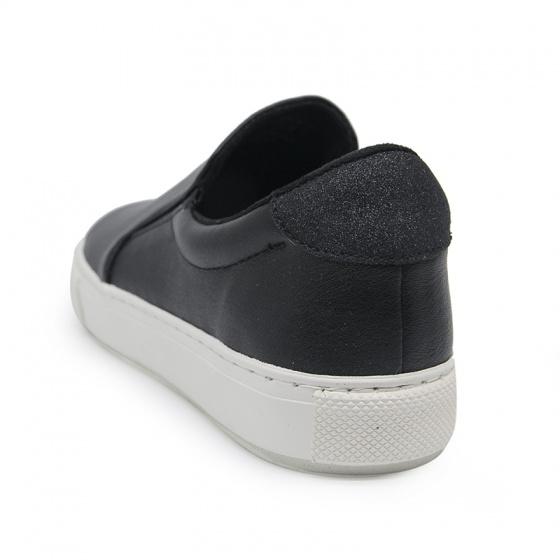 Giày lười nữ Sutumi S017 - NAPPA BLACK