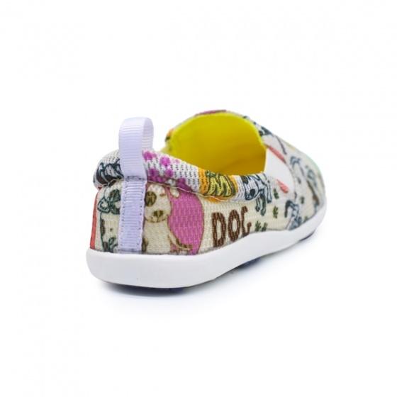 Giày lười vải trẻ em Sutumi 5177