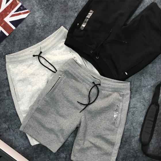 Combo 2 quần short nỉ da cá 2 túi và lưng thun dây rút QC.02 – Nhiều màu ( Tặng 1 ví )