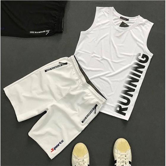 Quần short thể thao nam phối dây kéo lưng thun bản rộng SOT2 - Màu đen ( Tặng 1 khẩu trang )