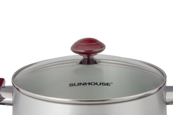 Bộ nồi anod Sunhouse SH8833QT