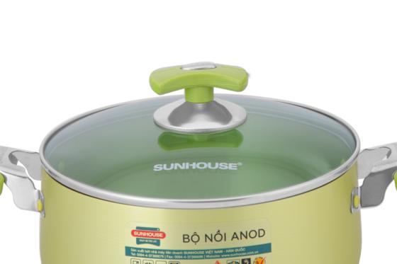 Bộ nồi anod Sunhouse SH8835