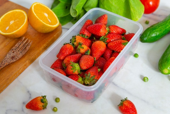 Bộ 6 hộp bảo quản thực phẩm ngăn mát  Biozone Mini set KB-CO6P01