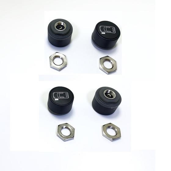 Cảm biến đo áp suất lốp ô tô Michelin IPC-1+4ISP-1 (Có màn hình) tặng sáp thơm Michelin